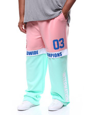 Men - Poly Jersey Color Block Pant (B&T)-2253642