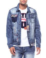 Denim Jackets - HOKIES JACKET-2256074