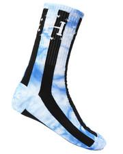 HUF - WC Bad Referee TD Striped Crew Socks-2227095