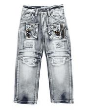 Jeans - Moto Jeans (4-7)-2253814