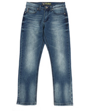 Sizes 8-20 - Big Kids - Flex Washed Denim Jeans (8-20)-2254873