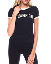 Womens-Fall - Champion Applique Tiny Tee-2250012