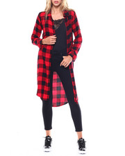 Polos & Button-Downs - L/S Roll Cuff Slit Side Duster-2256822
