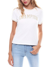 Womens-Fall - Champion Applique Tiny Tee-2251110