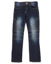 Sizes 8-20 - Big Kids - Moto Knee Jeans (8-20)-2253798