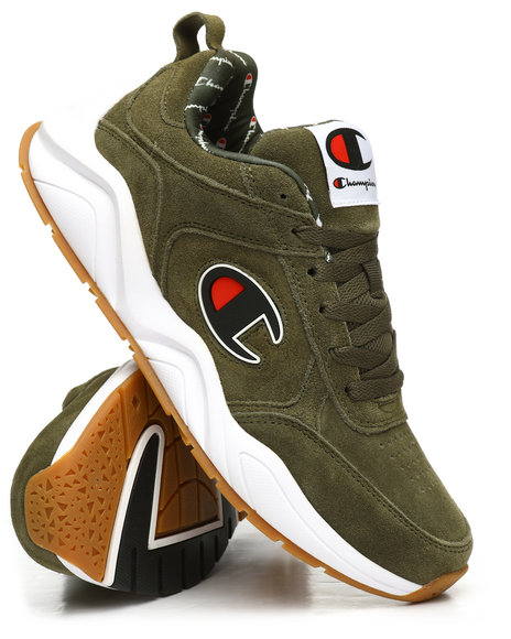 Champion - 93Eighteen Suede Big C Logo Sneakers