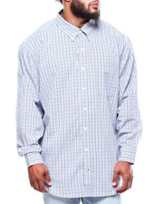 Men - L/S Premium Essential Plaid Woven (B&T)-2257123