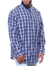 Izod - L/S Plaid Premium Essential (B&T)-2257157