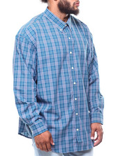 Izod - L/S Plaid Premium Essential (B&T)-2257141