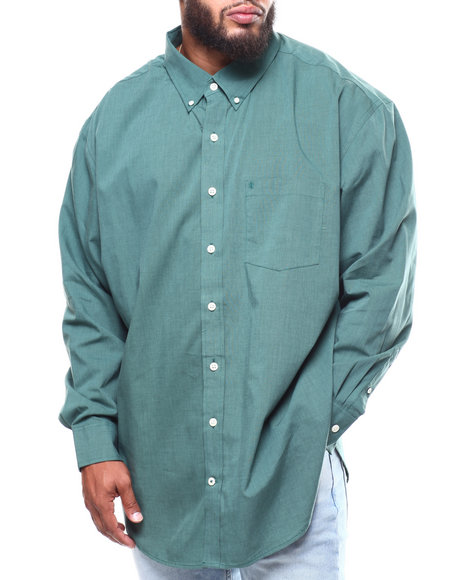 Izod - L/S Premium Essential End On End Woven (B&T)
