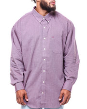 Big & Tall Faves - L/S Premium Essential End On End Woven (B&T)-2257132