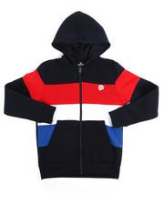 Hoodies - Color Block Fleece Full Zip Hoodie (8-20)-2254986