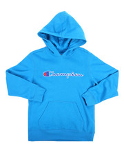 Champion - Heritage Scripted Pullover Hoodie (8-20)-2254527