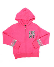 Sizes 7-20 - Big Kids - DKNY Sequin Hoodie (7-16)-2251339