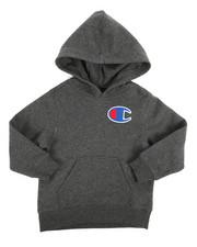 Champion - Heritage Big C Pullover Hoodie (4-7)-2254071