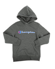 Champion - Heritage Scripted Pullover Hoodie (8-20)-2254537