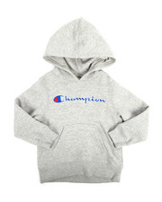 Champion - Heritage Scripted Pullover Hoodie (4-7)-2254562