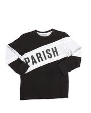 Parish - Long Sleeve Tee w/Contrast Blocking (4-7)-2250741