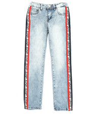 Sizes 7-20 - Big Kids - Ankle Girlfriend Jeans (7-16)-2257307