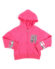 Girls - DKNY Sequin Hoodie (4-6X)-2251334