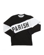 Parish - Long Sleeve Tee w/Contrast Blocking (8-20)-2250753