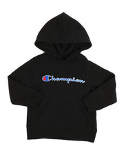 Champion - Heritage Scripted Pullover Hoodie (4-7)-2254542