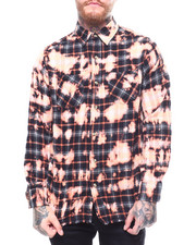 Shirts - BLEACHED WASHED FLANNEL-2256919