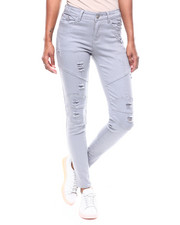 Bottoms - Ripped Moto Jean-2256416