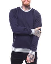 Jordan Craig - Contrast Stripe Raglan Crewneck Sweatshirt-2257620