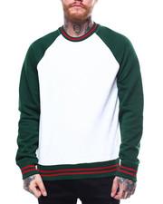 Jordan Craig - Contrast Stripe Raglan Crewneck Sweatshirt-2257637