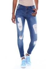 Skinny - Destructed Skinny Jean-2257829