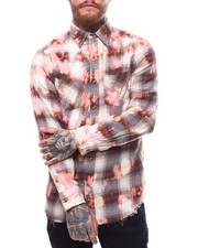 Shirts - BLEACHED WASHED FLANNEL-2256940