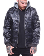 Members Only - FLIGHT SATIN TWILL JACKET W HOOD-2258320