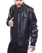Members Only - PU ICONIC RACER JACKET-2258300