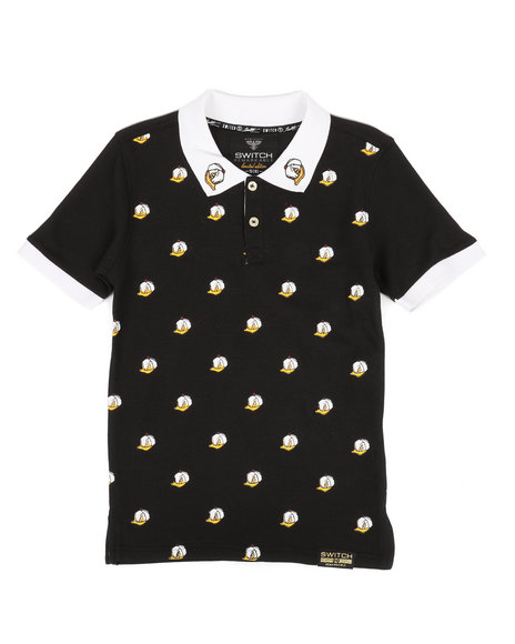 SWITCH - All Over Printed Polo (8-20)