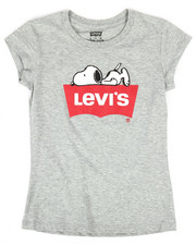 Sizes 7-20 - Big Kids - Sleepy Snoopy Tee (7-16)-2255558