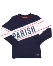 Parish - Long Sleeve Tee w/Contrast Blocking (8-20)-2250767