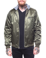 Members Only - FLIGHT SATIN TWILL JACKET W HOOD-2258293