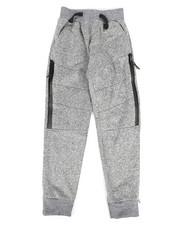 Sizes 8-20 - Big Kids - Marled Fleece Joggers (8-20)-2253752