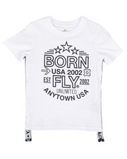 Born Fly - Graphic Tee w/Side Taping (4-7)-2255016