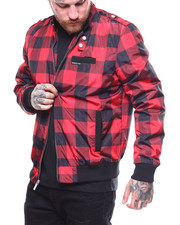 Members Only - LUMBERJACK ICONIC RACER JACKET-2258283