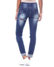 Skinny - Ripped Knee Jean-2256515