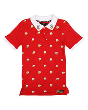 Boys - All Over Printed Polo (8-20)-2255006