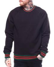 Jordan Craig - Contrast Stripe Raglan Crewneck Sweatshirt-2257480