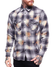 Men - LS FLANNEL SHIRT JACKET-2256930