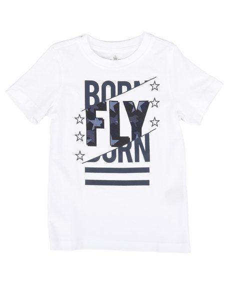 Born Fly - Screen Print Tee (4-7)