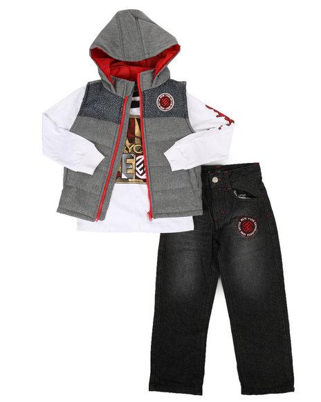 Enyce - 3 Piece Vest Set (4-7)