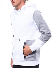Hoodies - Moto Kangaroo Pocket Hoody-2258910