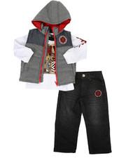 Enyce - 3 Piece Vest Set (2T-4T)-2257963