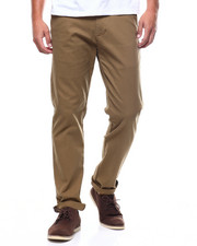 Pants - STRETCH TWILL CHINO W CHAMBRAY INSERT-2258932